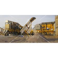 Hi-Tech Portable rock crusher with CE and ISO