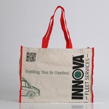 sac en coton avec support sac fourre-tout