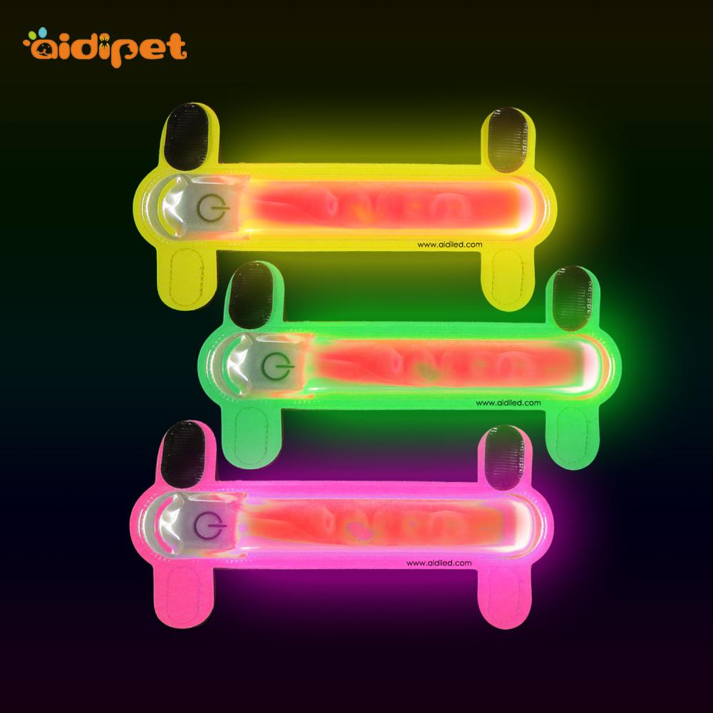 item pet glowing mascotas safety luminous led collar from collars in home flashing night light dog up dark camouflage puppy the