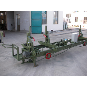 Semi-auto timber bandsaws log carriage