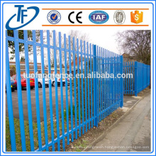 PVC Coated Steel Palisade Fence Made in Anping (China Supplier)