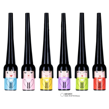 Cartoon Little Girl Image Makeup Eyeliner Tube