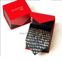 Special design square shape paper necktie boxes hot selling