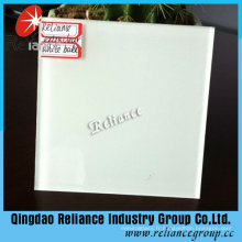 4mm / 5mm / 6mm Ultra Clear White Painted Glass