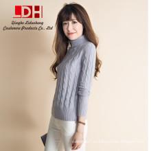 suéter de cachemira mujeres cachemira personalizada gran suéter de lana de conejo suéter