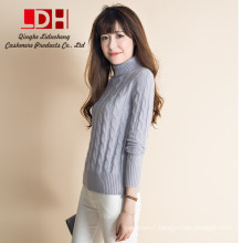cashmere sweater women pure cashmere customized big rabbit wool pullovers sweater