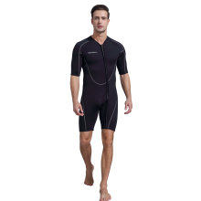 Seaskin Men Front Zip Shorty Diving Wetsuit