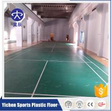 Clube de quadra de badminton sintético indoor