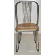 Industrial Metal Wooden Restaurant Chair