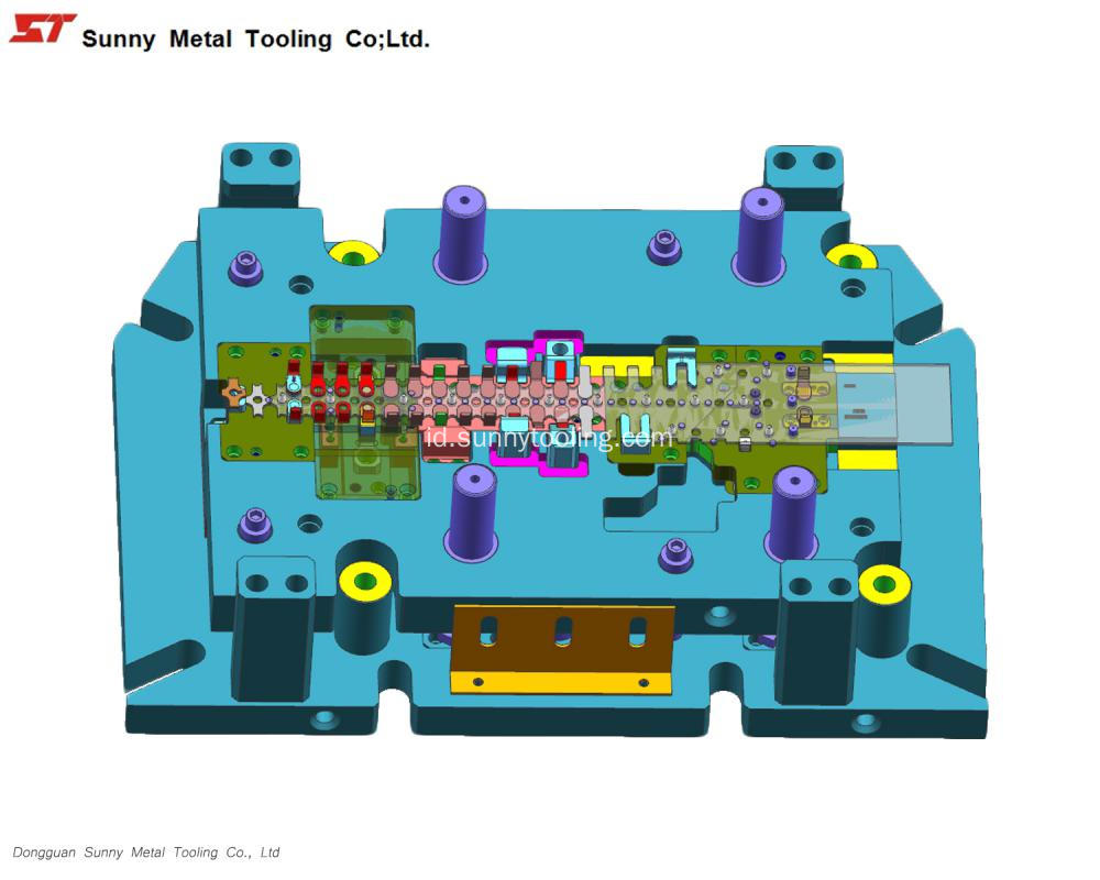 Stamping Tool Die Design untuk Automotive Part