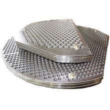 Edelstahl Rohrboden für Wärmetauscher