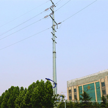 110 Kv and 35 Kv Power Transmission Monopole (tension tower)