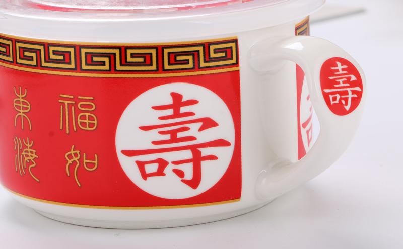 Ceramic bowls set