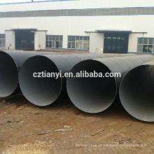 2015 Top qualidade asme b 36.10 erw tubo de aço