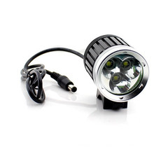 3 CREE Xml T6 Super Brightness 3000lumen Bicycle Light Night Driving Light