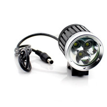 3 CREE Xml T6 Luminosidade Super 3000lumen luz da bicicleta Night Driving Light