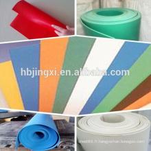 Feuille en caoutchouc colorée d'EPDM de résistance au vieillissement / tapis