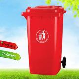 Outdoor plastic dumpsters
