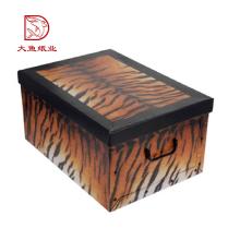 Oem personnalisé chinois décoratif affichage cravates boîte en gros