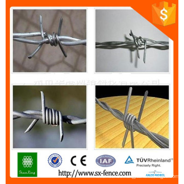Alibaba galvanized barbed wire/barbed wire font/barbed wire for sale