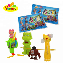 Wholesale Hot Selling Surprise Bag Inside Funny Toy With Candy