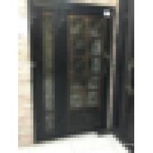 Lowes puerta de entrada de hierro forjado / puerta de entrada