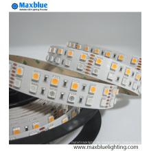 DC12V / 24V doppelte Reihe SMD5050 RGBW SMD LED Streifen-Licht