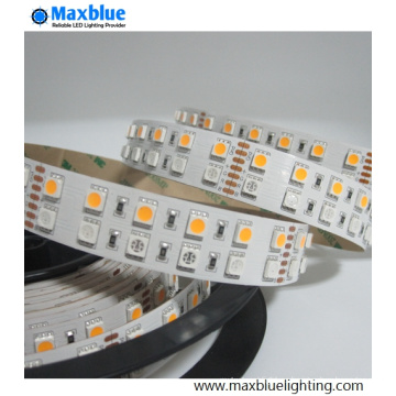Luz de tira doble de la fila SMD5050 RGBW SMD LED de DC12V / 24V