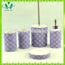 5pcs baño de cerámica conjunto ,, accesorios de baño para niños