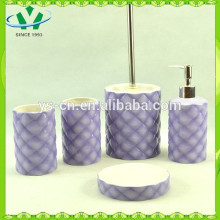 Набор керамической ванны 5шт., Аксессуары для ванной комнаты для детей