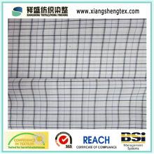 45s * 45s Fio de mistura Tecido de algodão tingido com xadrez