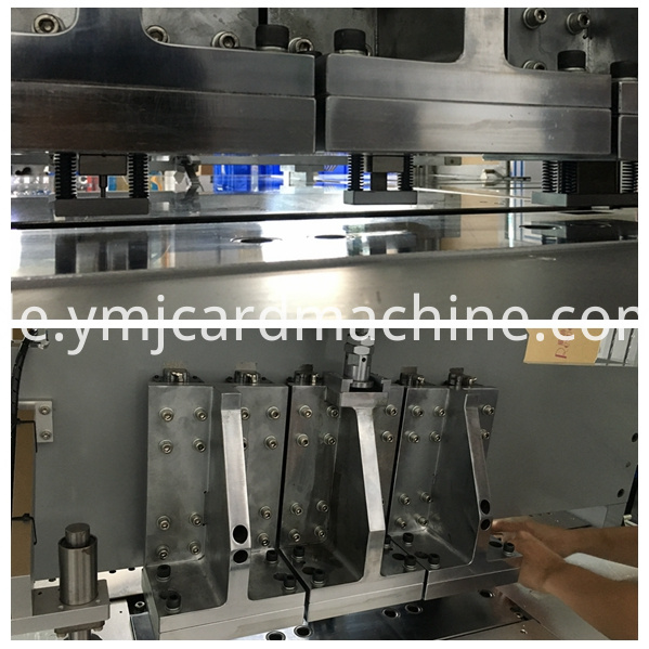 Irregular Shape Card Punching Machine