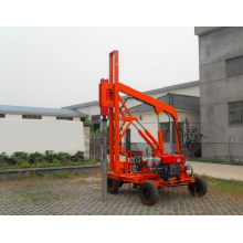 Pile Driver Machine For Guardrail Posts Pile Driving