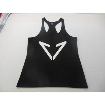 Y Back Tank Tops für Männer 100% Baumwolle Bodybuilding Stringer