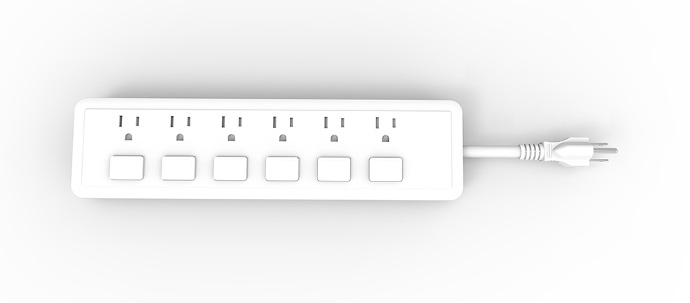 American Power Strip with Overload Protection