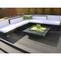 Decking en bois composite vert