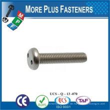 Made in Taiwan Hochwertige Edelstahl-Schraubenschlüssel Schraube Flachkopf