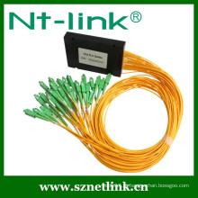 Divisor de fibra óptica plc 1X16