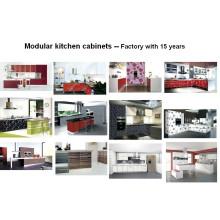 MDF Wooden Modern Acrylic Kitchen Cabinets (ZHUV)