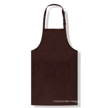 Cheap Custom Logo Printed Cotton Polyester Kitchen Cooking Cleaning Chef Apron