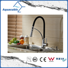 Fashion Single Handle Pull out Kitchen Sink Faucet (AF2105B)