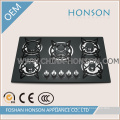 Newest Factory Sale Electric Stove Cooking 5 Burner Gas Hob