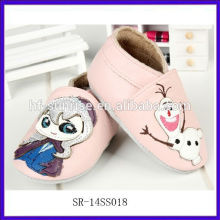 SR-14SS018 china cheap wholesale baby shoes pink pink new fashion infant shoes in bulk cartoon leather toddler shoes in bulk