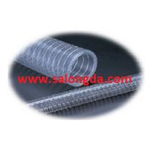 Mangueira de fio de aço PVC de grau FDA