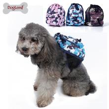 2017Doglemi Wholesale Camouflage Travel Pet Dog Bag Backpack