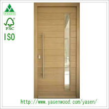 Customized Entry Mahogany Solid Wood Door