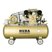 high pressure 12bar 10HP V belt driven air compressor