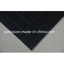 G10 preto para as aletas da placa surfando