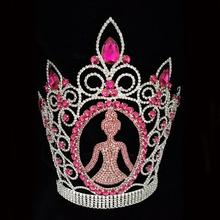 Queen Princess Tiara Pageant Rhinestone Crown