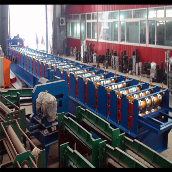 Floor Deck Tile Roll Forming Machine